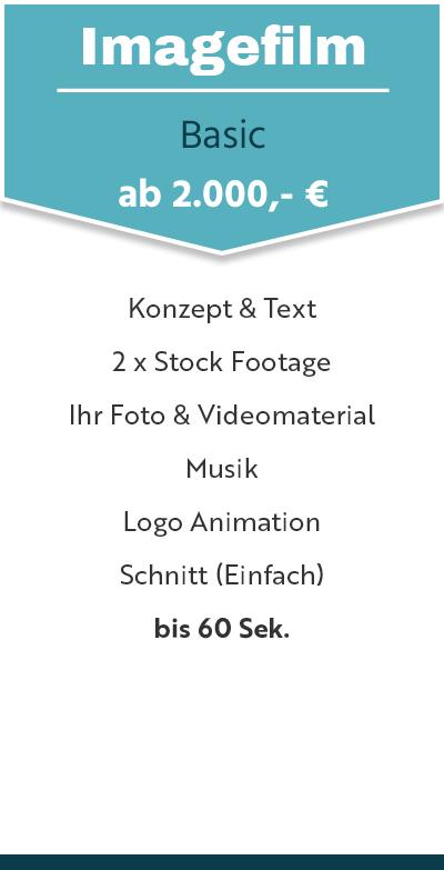 Imagefilm Preis Basic
